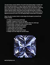 A collection of my best Gemstone Faceting Designs Volume 2 Back Cover gem facet diagrams